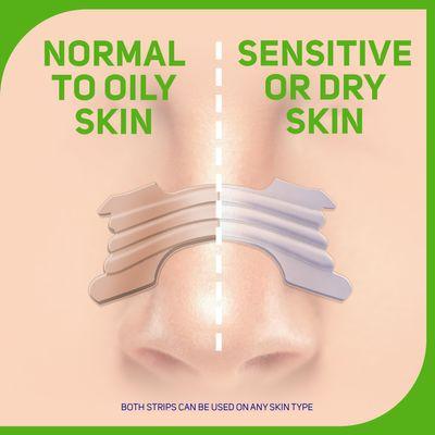 Orginal v clear nasal strips