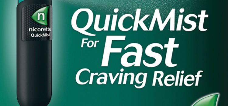 What is Nicorette QuickMist?