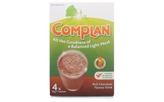 Complan Sachets Chocolate 55g Pack of 4