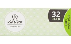 Lil-Lets Super Plus Tampons Pack of 32