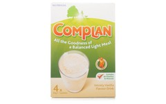 Complan Sachets Vanilla 55g Pack of 4