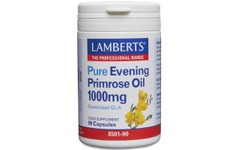 Lamberts Evening Primrose Oil Capsules 1000mg Pack of 90