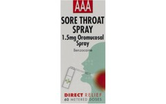 AAA Sore Throat Spray 60 Dose