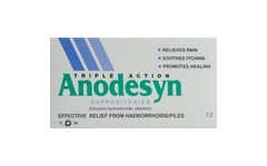Anodesyn Suppositories Pack of 12