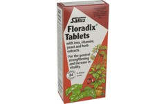 Floradix Formula Herbal Iron Tablets Pack of 84