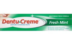 Dentu-Creme Denture Cleansing Paste Fresh Mint 48ml