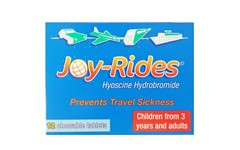 Joy-Rides Travel Sickness Chewable Tablets Pack of 12