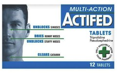 Actifed Multi Action Tablets Pack of 12
