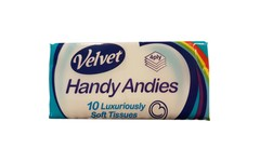 Handy Andies Tissues Pack of 10