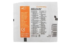 Melolin Low Adherent Absorbent Dressing 5cm x 5cm