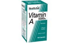 HealthAid Vitamin A Capsules 5000iu Pack of 100