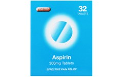 Aspirin 300mg Tablets Pack of 32