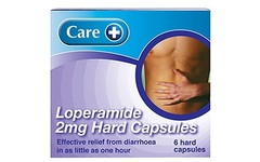 Care Loperamide 2mg Hard Capsules Pack of 6