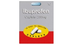 Ibuprofen Caplets 200mg Pack of 16