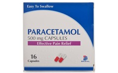 Paracetamol 500mg Capsules Pack of 16
