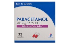 Paracetamol 500mg Capsules Pack of 32
