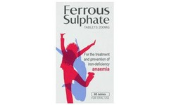 Ferrous Sulfate 200mg Tablets Pack of 60