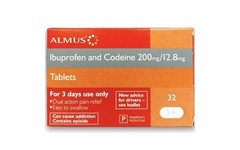 Ibuprofen and Codeine 200mg/12.8mg Tablets Pack of 32