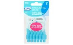 Tepe Interdental Brushes Blue 0.6mm Pack of 6