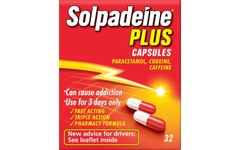 Solpadeine Plus Capsules Pack of 32