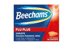 Beechams Flu Plus Caplets Pack of 16
