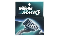 Gillette Cartridges Mach3 Pack of 4