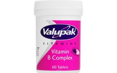Valupak Vitamin B Complex Tablets Pack of 60