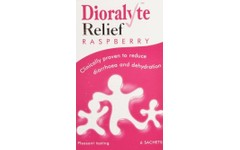 Dioralyte Relief Sachets Raspberry Pack of 6