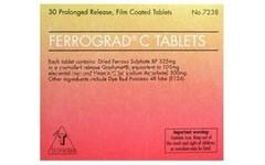 Ferrograd C Filmtabs Blister Pack of 30
