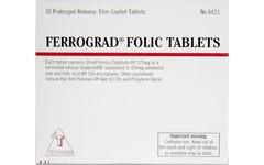Ferrograd Folic Tablets Pack of 30