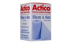 Actico Cohesive Short Stretch Bandage 10cm x 6m