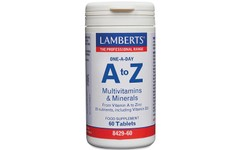 Lamberts A-Z Multivitamins & Minerals Tablets Pack of 60