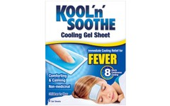 Kool 'n' Soothe Cooling Strip Sachets Kids Pack of 4