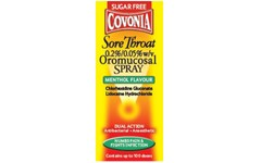 Covonia Sore Throat Oromucosal Menthol Spray 30ml