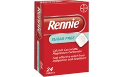 Rennie Sugar Free Tablets Pack of 24