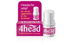 4head Topical Headache Relief Stick 3.6g