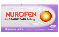 Nurofen Migraine Pain Tablets Pack of 12