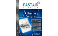 Fastaid Adhesive Dressing Pack of 5