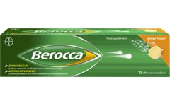 Berocca Effervescent Orange Pack of 15
