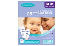 Lansinoh Breast Milk Storage Bags Pack of 25