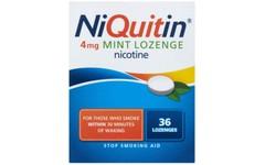 Niquitin 4mg Lozenges Mint Pack of 36