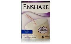 Enshake Sachet Vanilla 96.5g Pack of 6