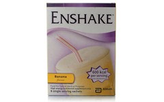 Enshake Sachet Banana 96.5g Pack of 6
