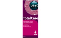 Blink Total Care Disinfecting & Wetting Solution 120ml