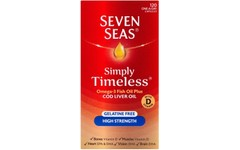 Seven Seas Simply Timeless CLO High Strength Capsules Pack of 120