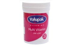 Valupak Multivitamin One-a-day Tablets Pack of 50