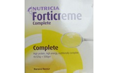 Forticreme Complete Banana 125g Pack of 4