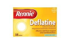 Rennie Deflatine Tablets Pack of 18