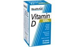 HealthAid Vitamin D 500iu Tablets Pack of 60