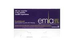Emla 5% Cream 5g With 2 Dressings